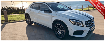 Mercedes GLA Art Edition