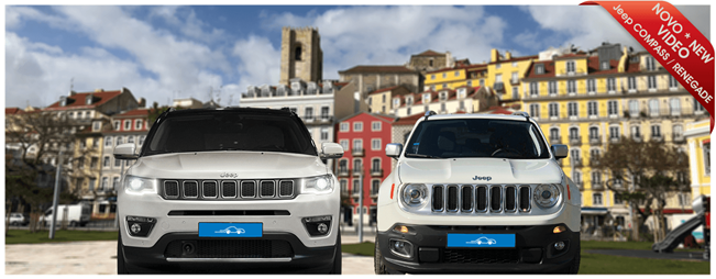 Jeep COMPASS and RENEGADE at Portugalrent