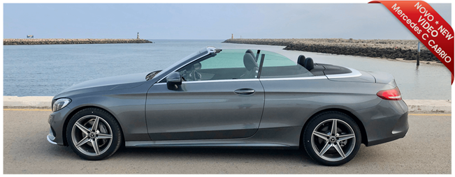 Mercedes C CABRIO arrived at Portugalrent