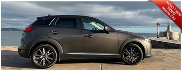 Mazda CX3- the small SUV ideal for your trip