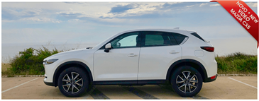 New MAZDA CX5 at Portugalrent