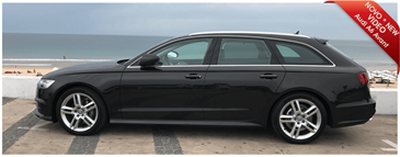 New station wagon Audi A6 AVANT at Portugalrent